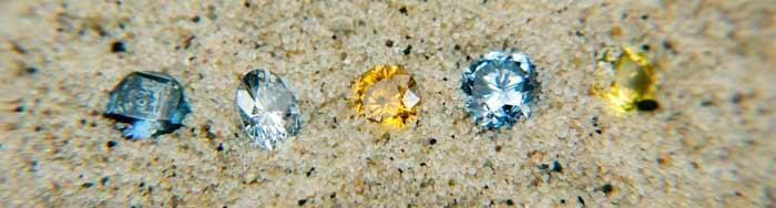 骨灰钻石各种颜色